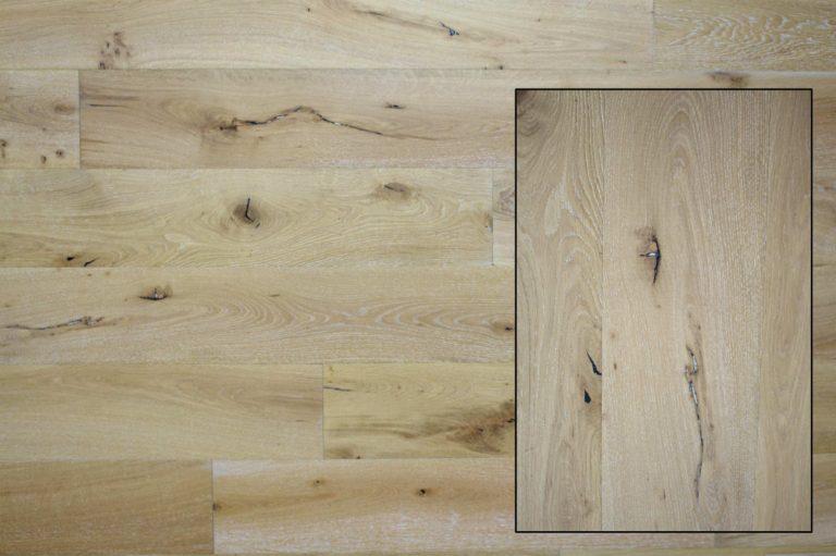Limed French Oak Flooring