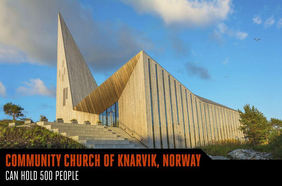 community_church_of_knarvik_norway_wood_flooring